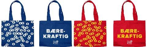 MILJØVENNLIG: Coop vil betale kundene for å bruke disse handlenettene, som er mer miljøvennlig enn vanlige plastposer. Men bare hvis de blir brukt.