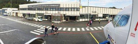 En rekke avganger fra Kvernberget ble kansellert under streiken.