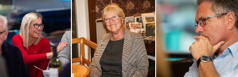 LØNN: Tilsammen vil varaordfører Linn Laupsa og ordfører Anne-Kari Holm motta mer i lønn enn da Holm var varaordfører da Thor Edquist (th) var ordfører. Arkiv.