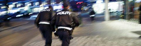 En person satte seg kraftig til motverge da politiet tok kontakt.