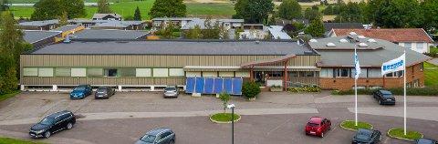 KJØPT: Selv om Techni fortsatt er i det gamle e-verksbygget på Borre, er eiendommen solgt og skal i framtida bli boliger.