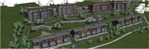 GRØNT LYS TORSDAG: Torsdag får trolig Solid Prosjekt klarsignal for å gå i gang med fire boligblokker på seks etasjer i Rolvsøy.