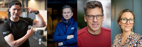 FOREDRAGSHOLDERE: (f.v.) Øystein Pettersen, Håvard Tvedten, Silje Dahl i Athenas og Johan Olav Koss.