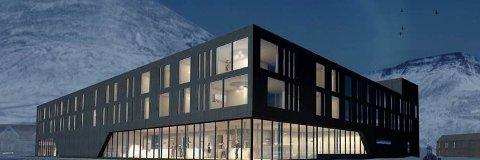 STORT: Det nye hotellet i Longyearbyen på Svalbard skal bli noe liknende som dette.