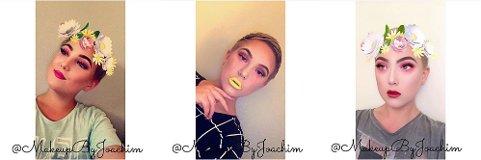 Følges av mange: På Instagramkontoen til Joachim er det over 3.000 som vil se talentet hans. Han går under brukernavnet @makeupbyjoachim