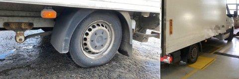OVERVEKT: Denne transporten var solid overlastet, ifølge Statens vegvesen. 1,8 tonn for mye.