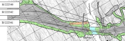 ARKEOLOGI: Kartet viser noen av de steinalderlokalitetene som Riksantikvaren vil ha utgravd.