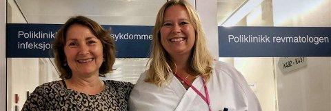 Får støtte: Bente Fridtjofsen (tv) og Inger-Johanne Jarnæs gleder seg til å utvikle et tilbud som er spesialtilpasset ungdommenes ønsker og behov.