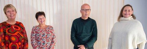 BRUKERUTVALGE: Tove Linder Aspen, Anne Lise Brygfjeld (leder), Steinar Arnesen (vara) og Trine-Mari Aavitsland. Øvrige medlemmer ikke tilstede da bildet ble tatt.