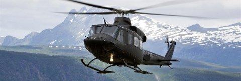 UT JUNI: Ordfører Rune Rafaelsen ønsker å ha Bell-helikopter i Øst-Finnmark ihvertfall til utgangen av juni.