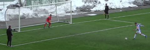 Avgjørelsen: Her sender Hårvard Svendsen Skjervø til cupens første runde.