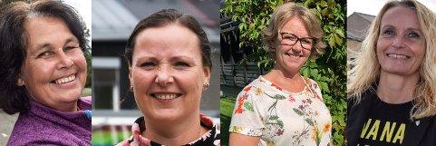 Anne Hagenborg, Linn T. Sunne, Anne Bjertnæs og Guri Bråthen er de fire kvinnelige ordførerkandidatene OA har intervjuet i OA-podden valgspesial.
