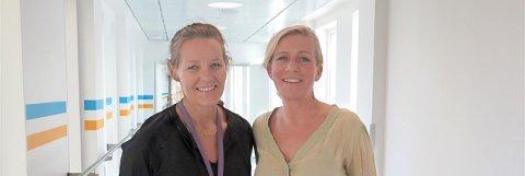 FORSKER PÅ FØDSEL: Jordmødrene Rebecka Dalbye og Stine Bernitz får internasjonal anerkjennelse for sin fødselsstudie.