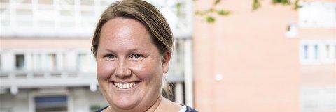 OVEROPPFYLT: Kristine Lindheim ved Sykehuset i Vestfold er fornøyd med at åtte av ti kreftpasienter får hjelpen de trenger i løpet av nominert tid.