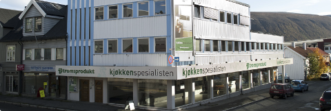 Tromsprodukts lokaler i sentrum