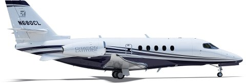 Norge får ett ambulansefly med jetmotorer av typen Cessna Citation Latitude. Maskinen kan operer pÃ¥ rullebanelengdene til både Stokka og Brønnøy.