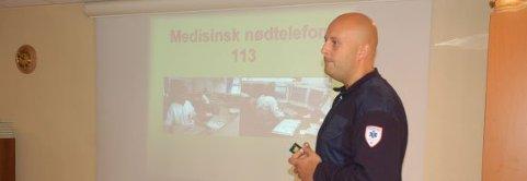 Leder i ambulansetjenesten Glenn Jacobsen må bruke reserveambulansen framover.
