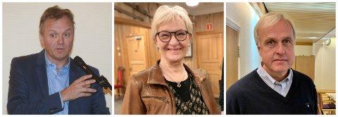 GJORDE OM: Kommunestyret i Gran har gjort om vedtaket om å redusere politikerlønningene i kommunen. Forslaget fra Lars Erik Flatø (Ap) (t.h.) ble vedtatt med 15 mot 12 stemmer. Morten Hagen (t.v.) og GBL var blant de som stemte mot.