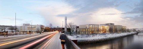 I 2023 skal hele kulturhuset i Steinkjer stå ferdig innflyttingsklart.