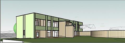 EIT STEG NÆRMARE: Skisser til ny sentrumsbarnehage. Illustrasjon Arki Arkitektar