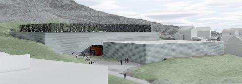 I tegningene fra Asplan Viak er det også gjort plass til en fremtidig flerbrukshall mellom skolen og fotballhallen.