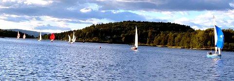 IDYLL: Indre havn var rene idyllen under seilasen forrige uke.