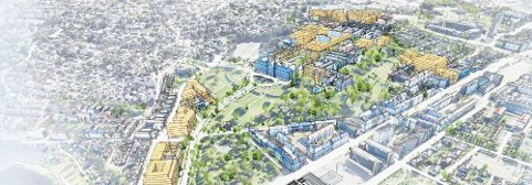 NTNU skal bygge ny campus, og har fått ei kostnadsramme fra regjeringen på 11,6 milliarder kroner.