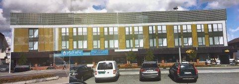 Bygger på: Slik tenker utviklerne at bygget i Silogata på Lena skal se ut. Foto: Lena Utvikling.