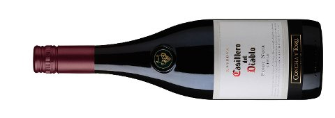 Terningkast 6: 9347601 Casillero del Diablo Pinot Noir 2014, 13,5 prosent vol, Concha y Toro, Casablanca/Chile, 75 cl, 109,90 kroner. Bestillingsutvalg. Middels rød. Røde bær som jordbær og bringebær i duft, samt hint av vanilje. Bra Pinot Noir-kvaliteter i smak med friske, røde bær. Finkornede tanniner og en tørr avslutning. Liker du den lette Pinot-stilen i dine rødviner, er dette et svært godt kjøp til drøye hundrelappen. Prøv den til fersk torsk og retter av lyst kjøtt.