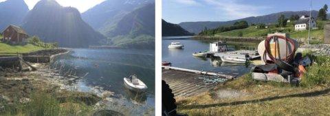 KVIKKLEIRE: På Hestenesøyra er det påvist kvikkleire tre stader. Dette er frå Norsk Geoteknisk Institutt sine undersøkingar i   Eikeneshamna.