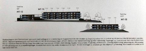 FORBEHOLD: I det opprinnelige prospektet tas det omfattende og detaljerte forbehold om mulige endringer i boligprosjektet på Mo.