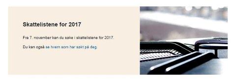 Onsdag morgen kommer skattetallene. Sjekk lokalt her på dt.no og på skatteteaten.no