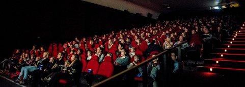 Over 80.000 på kino: 80.793 personer fant veien til Sarpsborg kino i 2016. Her fra førpremieren på «Snekker Andersen og julenissen».
