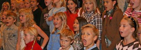 NYTT KORTILBUD: Barnekoret Jubaluba starter opp i Hole kirke. Koret fokuserer på samhold, glede og vennskap. Illustrasjonsfoto: Arnbjørn Moløkken