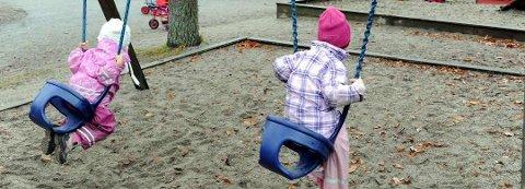 VIKTIG: Barnehage og SFO anses som viktige sosiale arenaer for alle barn. Rådmannen mener økonomisk støtte til slike plasser må være behovsprøvd. (illustrasjonsfoto)