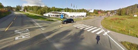 Det var i dette området at ulykken skjedde.