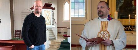 Onar Haugli, sokneprest i Nordkapp og kapellan Cato Engebretsen, er begge ute i permisjon.
