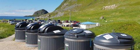SØPPEL: Nye søppelløsning er på plass