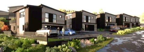 SEKS ENEBOLIGER: Nybygger'n har fått tillatelse til å bygge seks nye boliger i Romsåskroken.