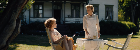 "HØSTENS STORFILM: Ingrid Vollan  har rollen som Sonja Wigerts mor Carmen i spillefilmen ""Spionen"" med  Ingrid Bolsø Berdal i hovedrollen."