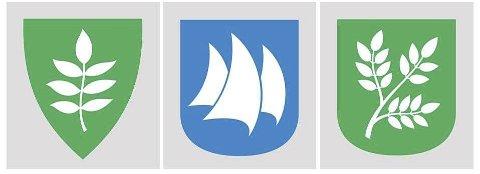 TRE FINALISTER: De tre finalistene  er Askebladet, Tre seil og Askekvisten. 21. juni skal fellesnemda velge.