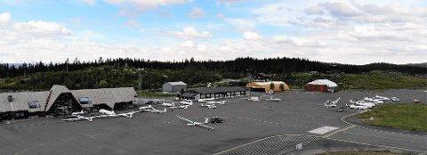 PERFEKTE FORHOLD: Fagernes Lufthavn Leirin viste seg fra sin beste side og bidro til at årets NM for seilfly ble et vellykket arrangement.