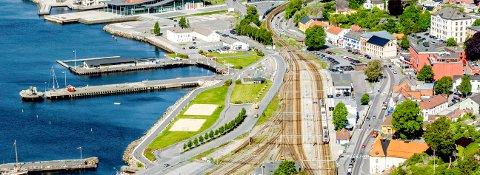 REVITALISERING: Blir det et endelig flertall for Kongegata alternativet, vil sentrum i Larvik være helt dødt om noen år. Velges Indre havn alternativet , vil Larvik sentrum kunne få den revitaliseringen som byen så sårt trenger, skriver Hans Christian Zeiner-Thorbjørnsen.