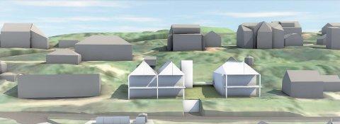 KLARSIGNAL: Statsforvalteren avviser klagen fra naboene om utbygging i Øvre Bakkeveg.
