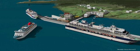 Spenstige tanker om en ny, stor cruisehavn på Gangenes kan være jobbskapende i reiselivsnæringen i Stavanger-regionen, mener Johnny Vigre i Østhusvik.