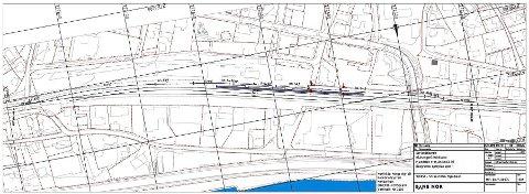 UTBEDRES: Perrong 2 på Mjøndalen stasjon skal utvides til 2,60 meter. 159 meter av perrongen blir nå bredere.