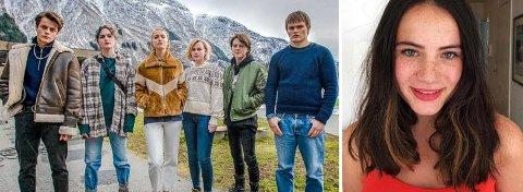 Her er noen av skuespillerne som Kornelia Eline Skogseth skal spille med i Netflix-satsningen «Ragnarok». Fra venstre: Herman Tømmeraas, Ylva Bjørkaas Thedin, Theresa Frostad Eggesbø Emma Bones, Jonas Strand Gravli og David Stakston.