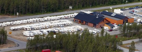 PÅGANG: Lian's Caravan er en av flere bedrifter innenfor bobil og camping som opplever en boom av pågang.