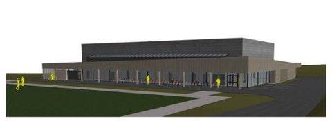 NY IDRETTSHALL: Slik ser arkitekten for seg at den nye Vormedal idrettshall kan bli seende ut.