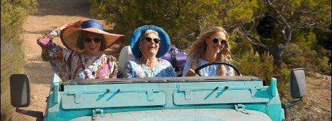 SOMMERSUKSESS: «Mamma Mia - Here we go again» er sommerens suksessfilm på kino. (Foto: UIP)